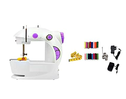 HOMEDIY Portable Sewing Machine With All In One Kit Amazonin Home New All In One Sewing Machine
