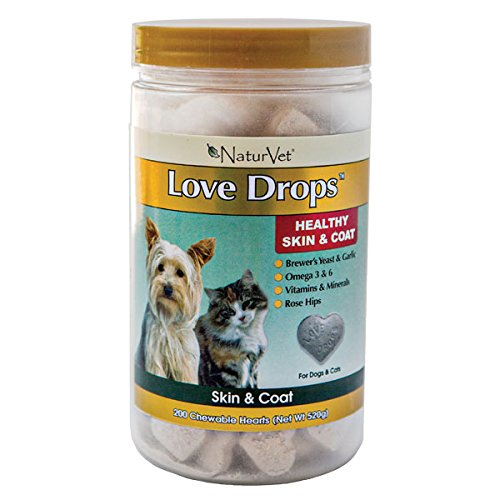 NaturVet Love Drops Skin & Coat Supplement – 200ct For Sale