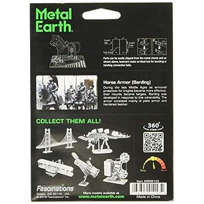 Fascinations Metal Earth Horse Armor 3D Metal Model Kit: Toys & Games