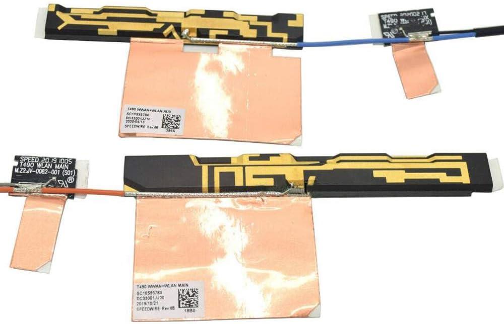 Gintai Kit de antena WLAN WWAN de repuesto para Lenovo ...