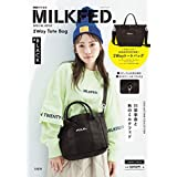MILKFED. SPECIAL BOOK 2Way Tote Bag #BLACK