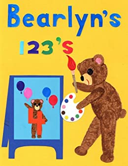 Cuddly Bears Counting 1-20 and Number Recognition Flash Cards 123's  (Brushed by Hand) (Beary Fun Learning Book 2)