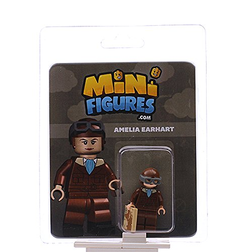 Custom Design Minifigure - Amelia Earhart