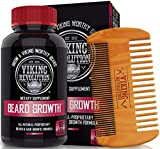 Best Deal Beard Growth Vitamin Supplement for Men - for a Fuller, Thicker
