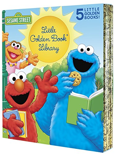Sesame Street Little Golden Book Library 5 copy boxed set