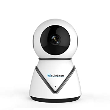 Cámara de Seguridad WiFi Cámara IP eLinkSmart Pan Tilt Zoom Cámara de vigilancia Interior con 720P