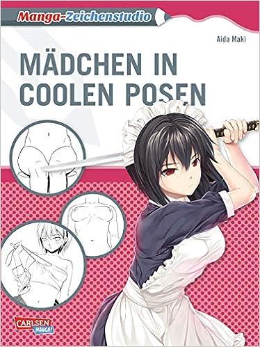 Manga Zeichenstudio Madchen In Coolen Posen Zeichnen Fur