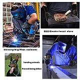 Welding Gloves HEAT RESISTANT Cow Split Leather
