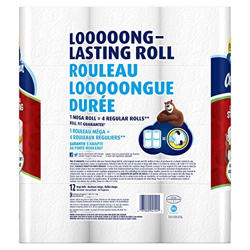 037000941545 - Charmin Ultra Strong Toilet Paper Mega Rolls, 12 Count carousel main 1