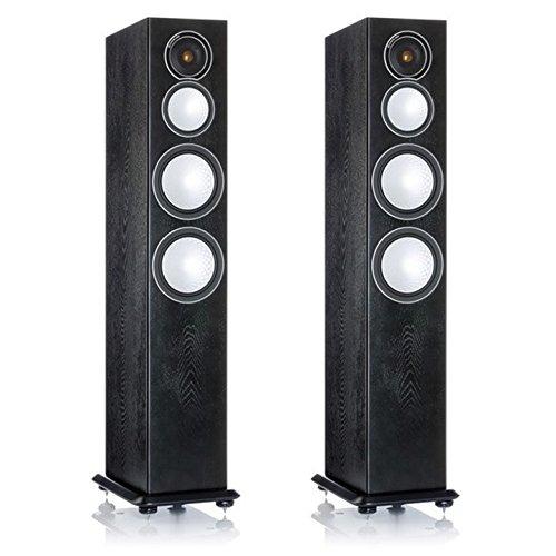 Monitor Audio Silver 8 Floorstanding Speaker (Blac...