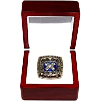 $129 » MIAMI DOLPHINS (Dan Marino) 1984 AFC NATIONAL CHAMPIONS Vintage Rare Collectible High-Quality Replica NFL Football Gold Championship Ring…