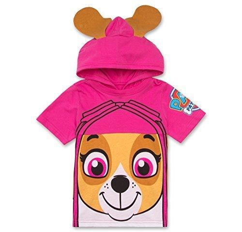 Nickelodeon PAW Patrol Hooded Shirt: Skye, Everest - Girls (Pink Skye, 3T)