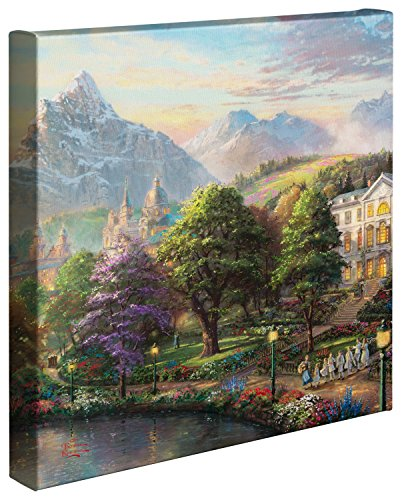Thomas Kinkade 14x14 Gallery Wrapped Canvas The Sound of Mus