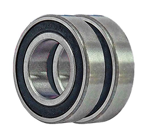 2 Bearing 6005 compatible with Hammerhead GoKart Rear Axle Bearing for Mudhead 208R and Mid-Size Gokarts - 9.030.005-250 replaces 60052RS0000000, 14593