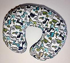 Minky Nursing Pillow Cover. ROAR! Cuddle...
