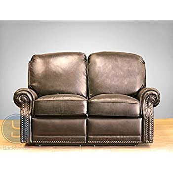 BarcaLounger Premier II Leather Reclining Loveseat - Stetson Coffee ( LoveSeat Power Recline)  sc 1 st  Amazon.com & Amazon.com: BarcaLounger Premier II Leather Reclining Loveseat ... islam-shia.org