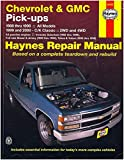 HAYNES REPAIR MANUAL for CHEVY PICK-UP NUMBER 24065