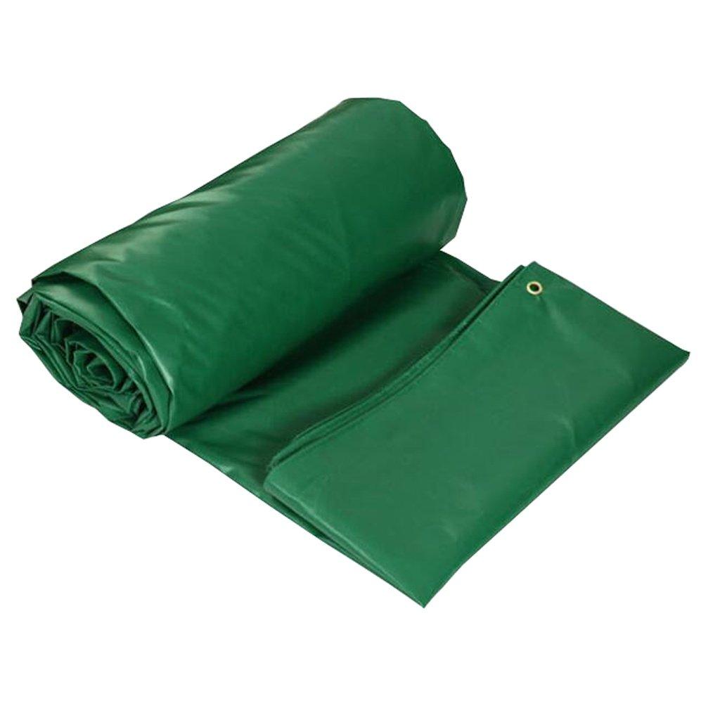 HGNA-Zeltplanen Zelt Zubehör Plane Tarps Wasserdichte Plane Blatt im Freien, 450G   m², Dicke 0,40 mm, 9 Größe verfügbar Idee für Camping Wandern