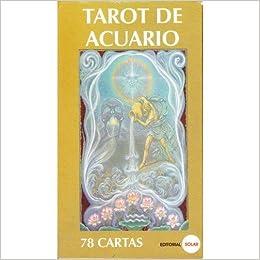 Tarot De Acuario - 78 Cartas Y Manual Pequeño: 9789588300504 ...