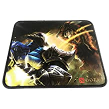 Gaming Mouse Pad Stiched Edges Anti-Slip 260x210 2mmmm / 10.2x8.3 0.08 inches – Dota 2 Design Mouse Mat for Desktop/Laptop