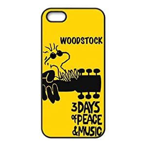 Fashion Woodstock Poster Personalized iPhone 5 5S PC Silicone Case Cover