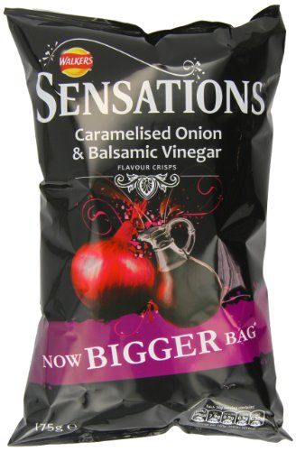 Unknown Walkers Sensations Balsamic Vinegar And Caramelised Onion 175 G (Pack Of 12)