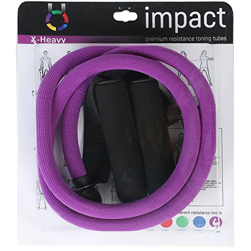 iMPACT Exercise Resistance Tube   X Heavy   Purple