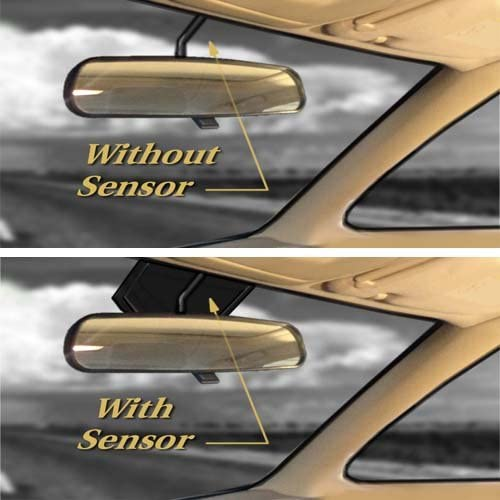 2015-2019 FORD F150 F350 F250 WITH SENSOR Cutout F450 Windshield SunShade