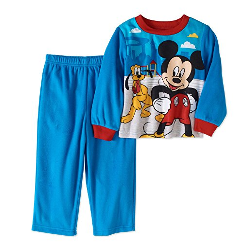 AME 2 Piece Disney Junior Mickey and the Roadster Racers Sleepwear Set Boys 2T