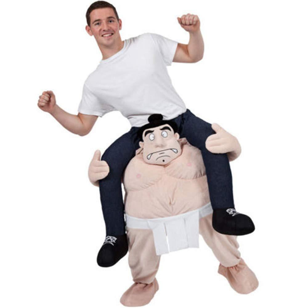 YIWANGO Traje De Cosplay Pantalones Mágicos Accesorios De Parodia Animal Espalda Hombre Pierna Falsa Juguete Disfraz