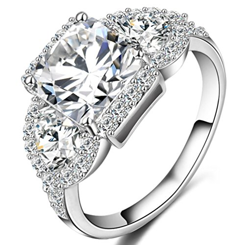 FENDINA Crystal Eternity Promise Engagement product image