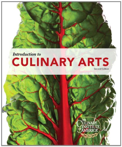 Introduction to Culinary Arts (2nd Edition)