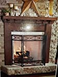 Twin Star International Fireplace Mantle Surround Kit - 5ft by Twin Star International