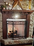 Twin Star International Fireplace Surround Kit - 5ft (Midnight Oak)