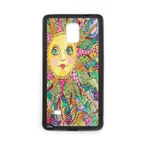 Yearinspace The Big Eyes Samsung Galaxy Note 4 Case For Women Protective, Samsung Galaxy Note4 Case For Men [Black]