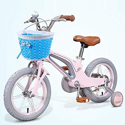 BESPORTBLE 6pcs Kids Bike Basket Streamers Set Pink Bicycle Handlebar Tassel Ribbons Riding Bike Mesh Basket for Kids Children Girls Blue : Sports & Outdoors