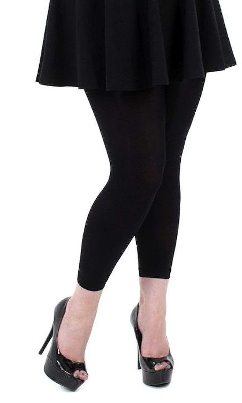 d5168137399d9 Pamela Mann 80 Denier Opaque Footless Tights - Available XL, XXL and XXXL:  Amazon.co.uk: Clothing