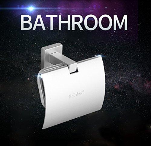 Raum Aluminium Toilettenpapierhalter Toilettenpapierkasten Tissue Box Gewebehalter Toilettenpapierhalter Handschale