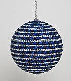 Katherine's Collection Azure Blue Rhinestone Hanging Ornament