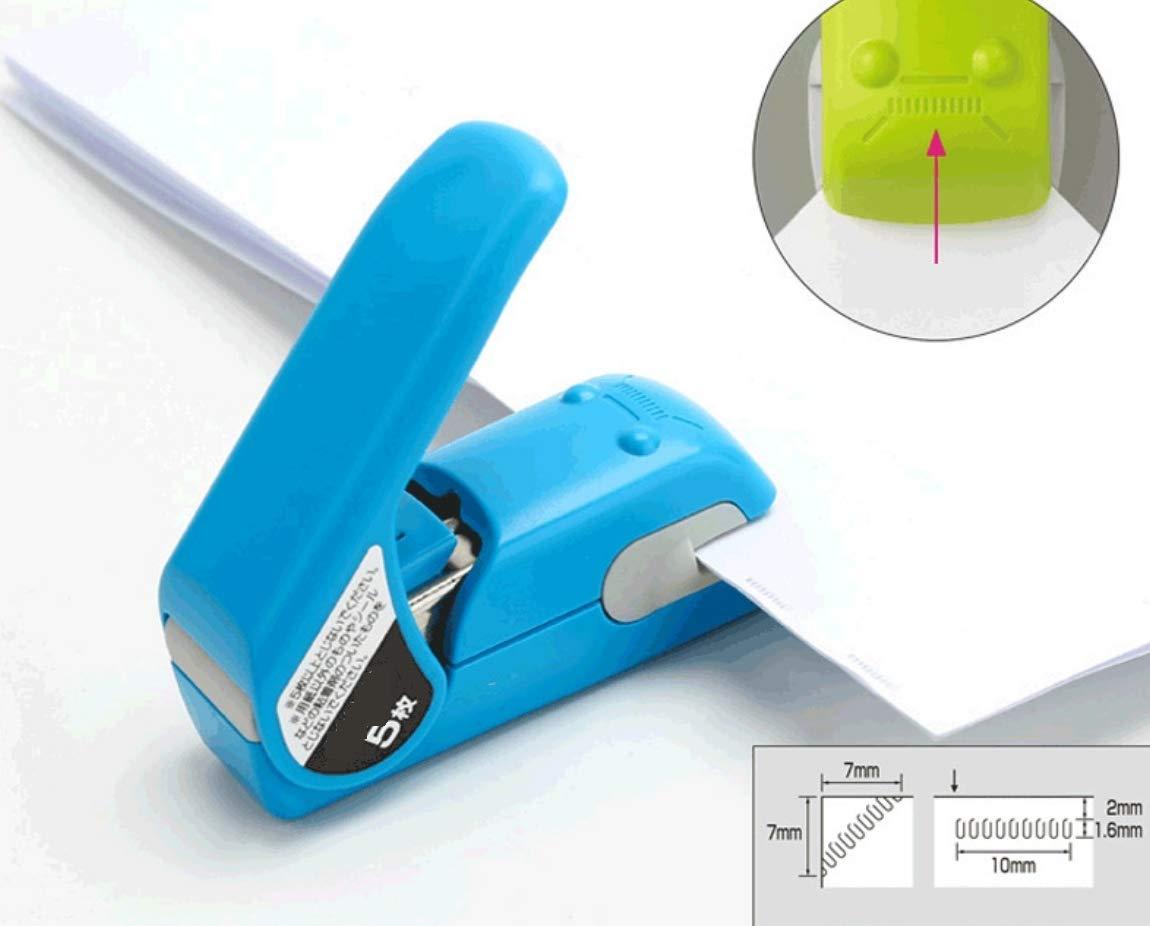 Grapadora sin necesidad agujas, protección del medio ambiente, sin necesidad sin de cambiar la grapadora de relieve 2de938