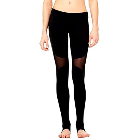Zcxaa - Pantalones de yoga para mujer, suaves, sexy, de ...