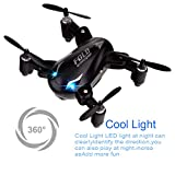 Mini Drones , Kingtoys Mini X31 Foldable 2.4G 4CH 6Axis RC 3D Roll Quadcopter Drone (Black)