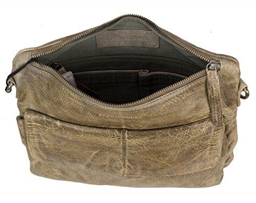 FREDsBRUDER Waxed Leather Journey Muddy Khaki