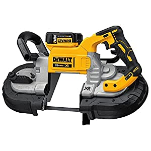 Dewalt Dcs374p2 20v Max Deep Cut Band Saw Kit Amazon Com