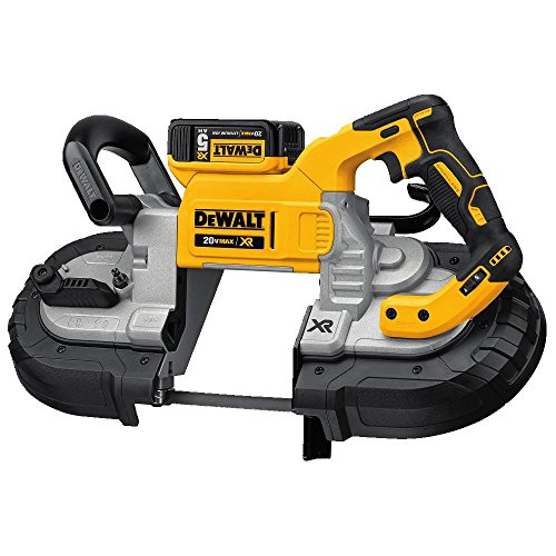 (DEWALT DCS374P2 20V Max Deep Cut Band Saw Kit)