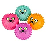 5'' CAT KNOBBY BALL, Case of 72