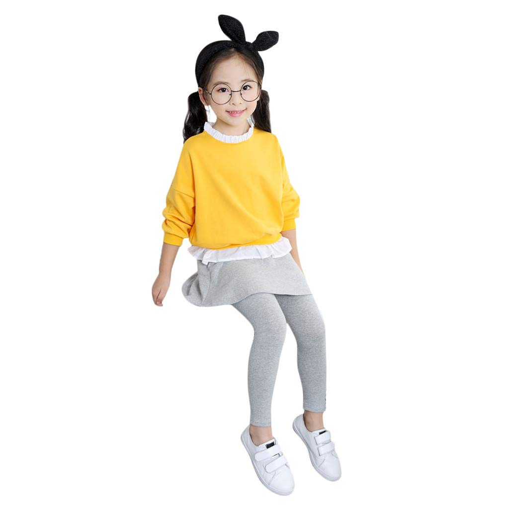 Lovely Kids Girls Fall Winter Casual Clothes Sets