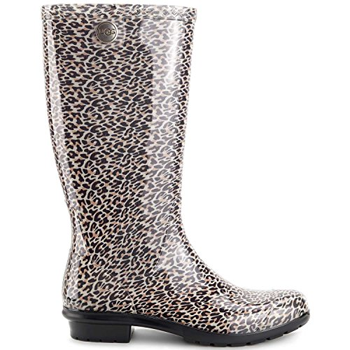 Black Wool Leopard - 8