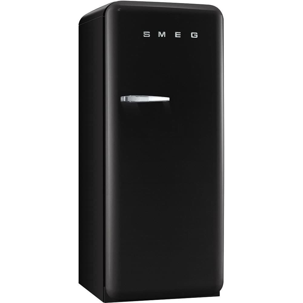 Smeg FAB28UBLR 50's Retro Style Aesthetic Refrigerator with Freezer Compartment, Black Pacific Specialty Brands - Drop Ship