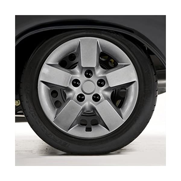 Upgrade-Your-Auto-Set-of-Four-16-Silver-Hubcap-Wheel-Covers-for-2008-2009-Nissan-Rogue-Push-on